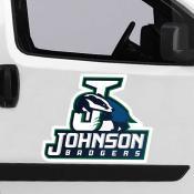 Large Jumbo Logo Car Magnet for Johnson State College Badgers