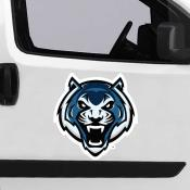 Large Jumbo Logo Car Magnet for Lincoln University Blue Tigers
