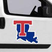 Large Jumbo Logo Car Magnet for Louisiana Tech University Bulldogs