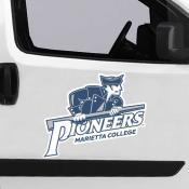 Large Jumbo Logo Car Magnet for Marietta College Pioneers