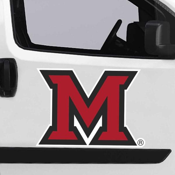 Large Jumbo Logo Car Magnet for Miami University Redhawks
