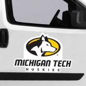 Large Jumbo Logo Car Magnet for Michigan Tech University Huskies