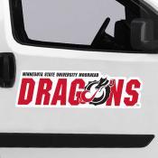 Large Jumbo Logo Car Magnet for Minnesota State University Moorehead Dragons