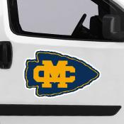 Large Jumbo Logo Car Magnet for Mississippi College Choctaws