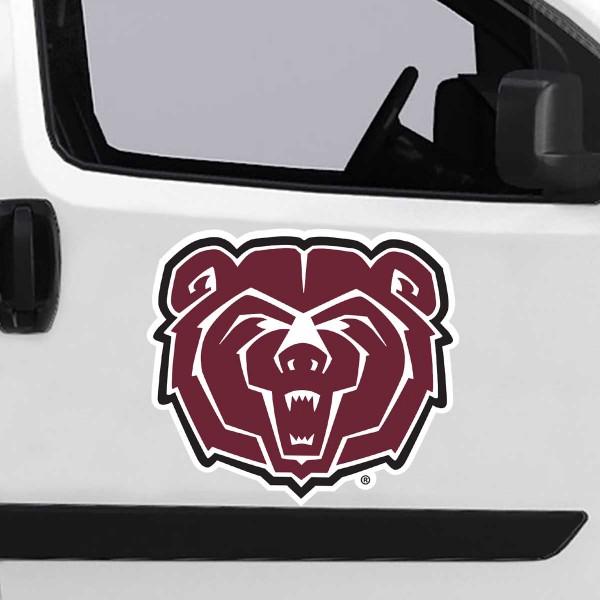 Large Jumbo Logo Car Magnet for Missouri State University Bears