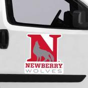 Large Jumbo Logo Car Magnet for Newberry College Wolves