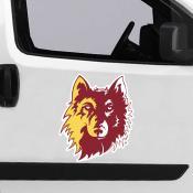 Large Jumbo Logo Car Magnet for Northern State University Wolves