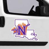 Large Jumbo Logo Car Magnet for Northwestern State University Demons
