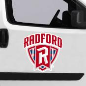 Large Jumbo Logo Car Magnet for Radford University Highlanders