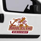 Large Jumbo Logo Car Magnet for Rhode Island College Anchormen