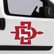 Large Jumbo Logo Car Magnet for San Diego State University Aztecs