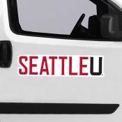 Large Jumbo Logo Car Magnet for Seattle University Redhawks