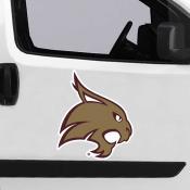 Large Jumbo Logo Car Magnet for Texas State University Bobcats