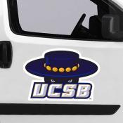 Large Jumbo Logo Car Magnet for University of California Santa Barbara Gauchos