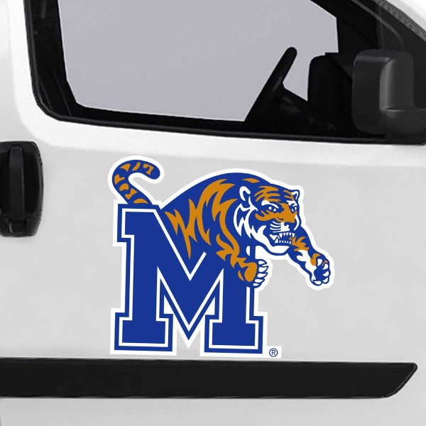Large Jumbo Logo Car Magnet for University of Memphis Tigers