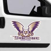 Large Jumbo Logo Car Magnet for Westminster College Griffins