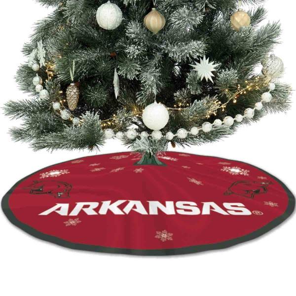 Large Tree Skirt for Arkansas Razorbacks