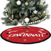 Large Tree Skirt for Cincinnati Bearcats