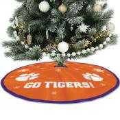 Large Tree Skirt for Clemson Tigers