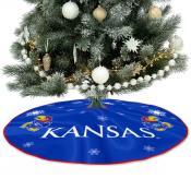 Large Tree Skirt for Kansas Jayhawks