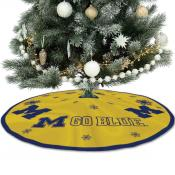 Large Tree Skirt for Michigan Wolverines