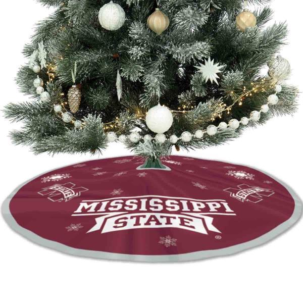 Large Tree Skirt for Mississippi State Bulldogs