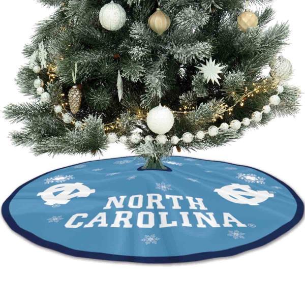 Large Tree Skirt for North Carolina Tar Heels