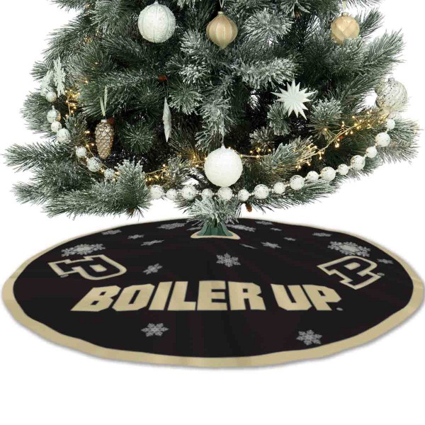 Large Tree Skirt for Purdue Boilermakers