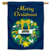 LaSalle Explorers Christmas Holiday House Flag
