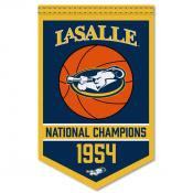 LaSalle Explorers College Basketball National Champions Banner