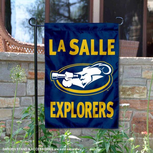 LaSalle Explorers Garden Flag