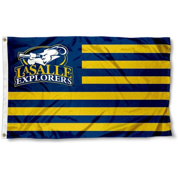 LaSalle Explorers Nation Flag