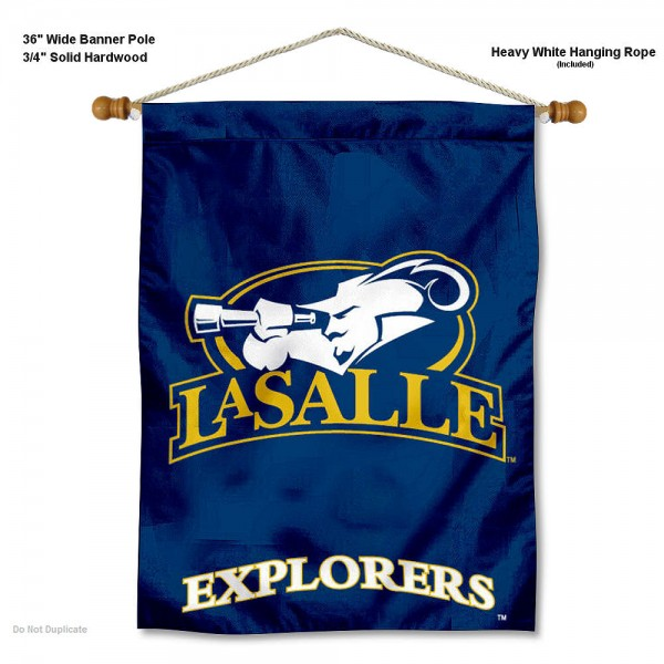 LaSalle Explorers Wall Hanging