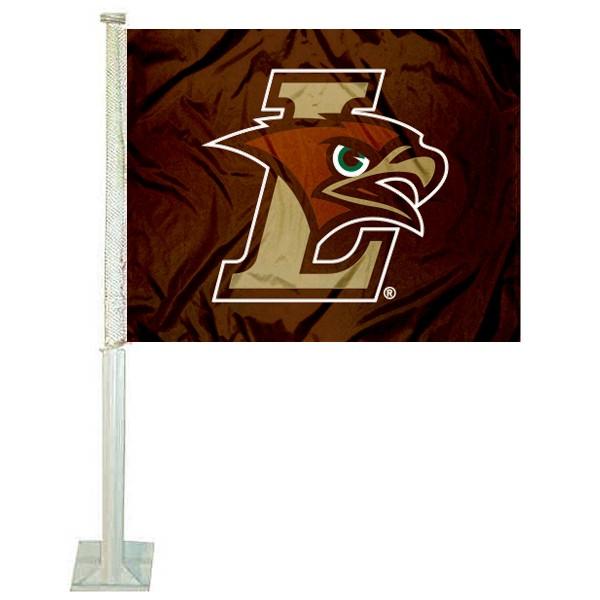 Lehigh Mountain Hawks Car Flag