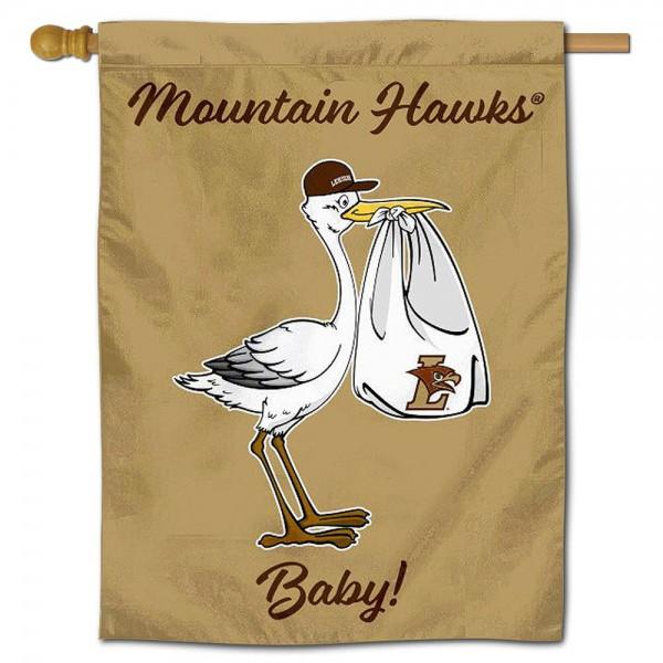 Lehigh Mountain Hawks New Baby Banner