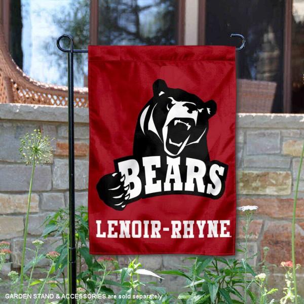 Lenoir Rhyne Bears Garden Flag