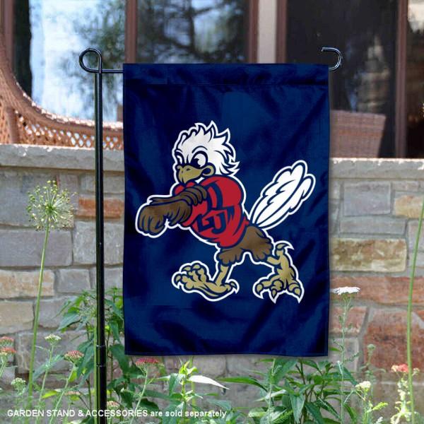 Liberty Flames Mascot Sparky the Eagle Garden Flag