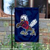 Liberty Flames Mascot Sparky the Eagle Garden Flag
