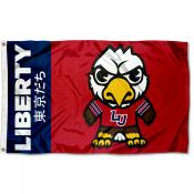 Liberty Flames Tokyodachi Cartoon Mascot Flag