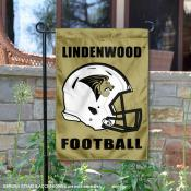 Lindenwood Lions Football Garden Flag