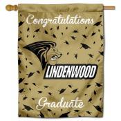 Lindenwood Lions Graduation Banner