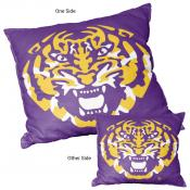 Logo Pillow for LSU Tigers