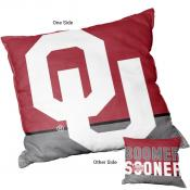 Logo Pillow for OU Sooners