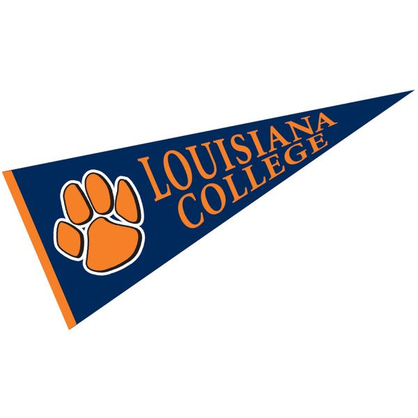 Louisiana College Wildcats Pennant