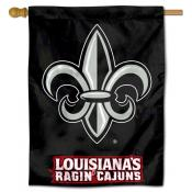 Louisiana Ragin Cajuns House Flag