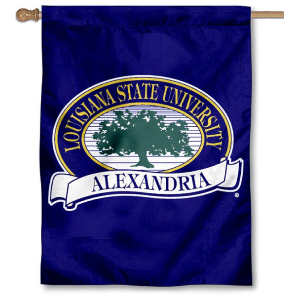 Louisiana State Alexandria Generals House Flag