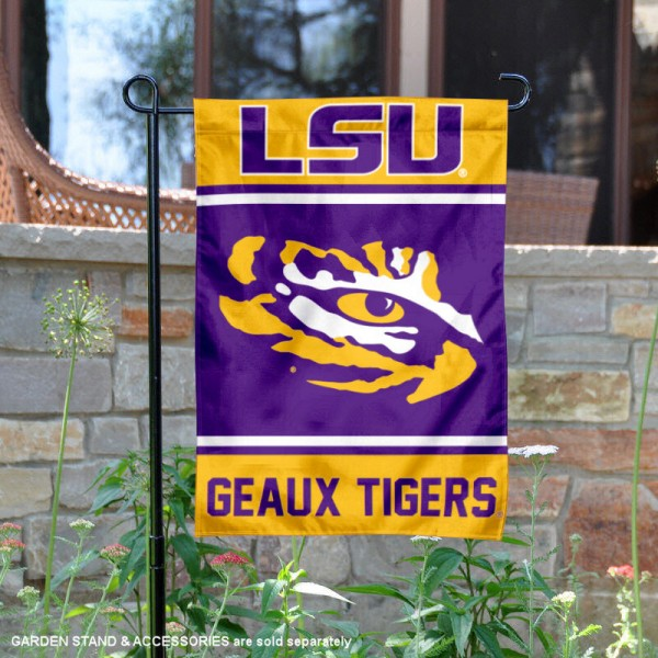 Louisiana State LSU Tigers Garden Flag