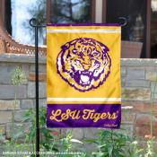Louisiana State LSU Tigers Retro Throwback Garden Banner