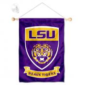 Louisiana State LSU Tigers Small Wall and Window Banner
