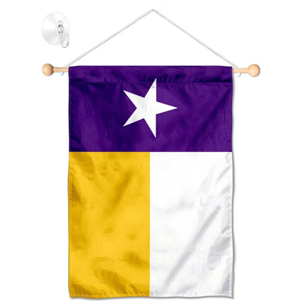 Louisiana State LSU Tigers Texas Small Wall and Window Banner